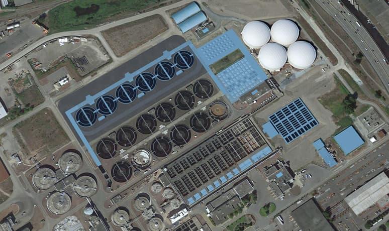 Annacis Island Wastewater Treatment Plant Villa Roofing